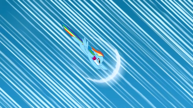 File:Rainbow Dash about to do sonic rainboom S1E23.png