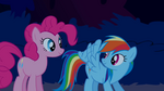 Rainbow Dash showcases her wings S1E02
