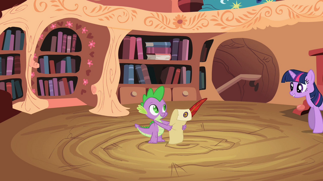 File:Twilight talking to Spike S2E3.png