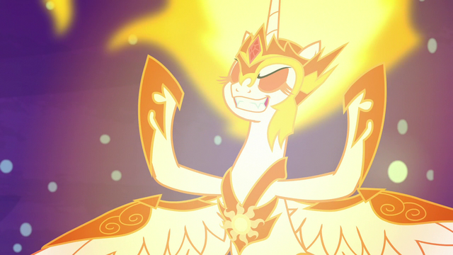 File:Daybreaker building her solar magic S7E10.png