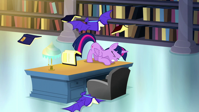 File:Twilight ducks under a swooping bat book S5E13.png