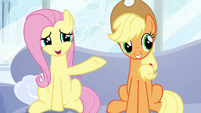 "Fluttershy ""how long you've been waiting"" S6E7"