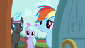 Rainbow Dash asking about the Breezies S4E16.png