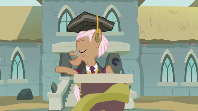 """File:Rusty Tenure """"just you, actually"""" S7E4.png"""