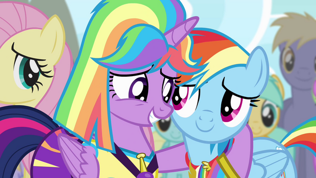 File:Twilight with hoof around Rainbow S4E10.png