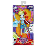 Friendship Games School Spirit Rainbow Dash doll packaging