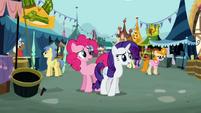 Pinkie Pie Rarity worry S02E19