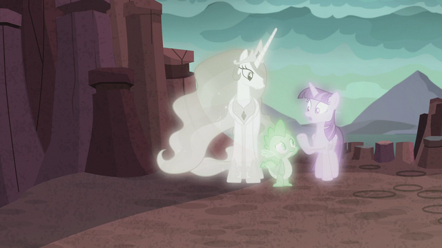 """File:Twilight """"who knows what their dynamic would be"""" S7E1.png"""