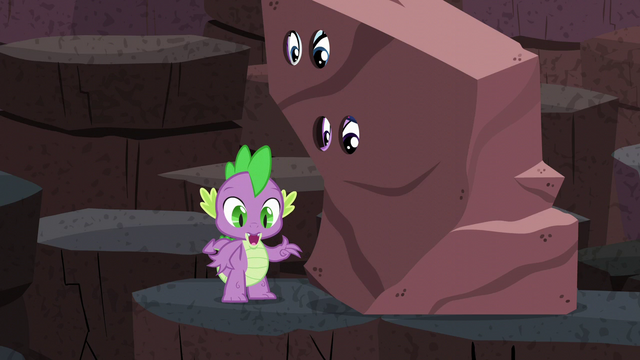 "File:Spike ""and I stopped glowing"" S6E5.png"