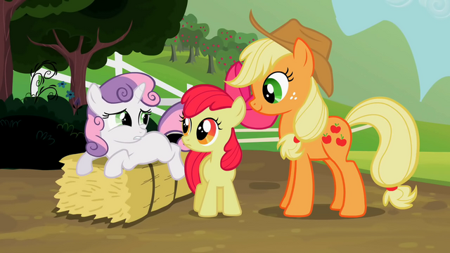 File:Sweetie Belle unsure of helping out S2E5.png