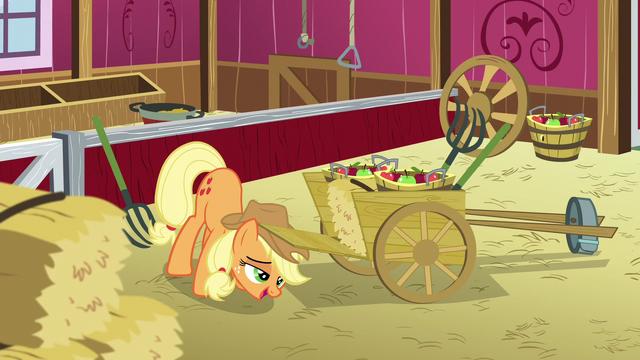 File:Applejack closing a wheelbarrow S5E03.png
