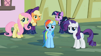 Rarity & Rainbow Dash ok weird S2E8