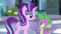 "Spike ""Well, Twilight obviously thinks you're worth being friends with!"" S6E2"