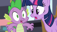 Spike 'Your highness' S4E01