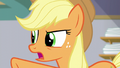 "Applejack ""have you always run every single one"" S6E10.png"