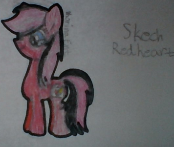 File:FANMADE Skech Redheart drawing.png