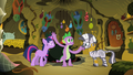 Spike slaps Twilight S2E10.png