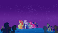 Crowd watching the meteor shower S01E24.png