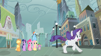 Rarity running away S4E08