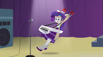 Rarity swung around like a marionette EG2