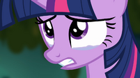 Twilight with tears in her eyes S4E02