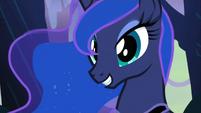 Luna smiling S3E06