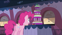 Pinkie Pie after waking up S2E24