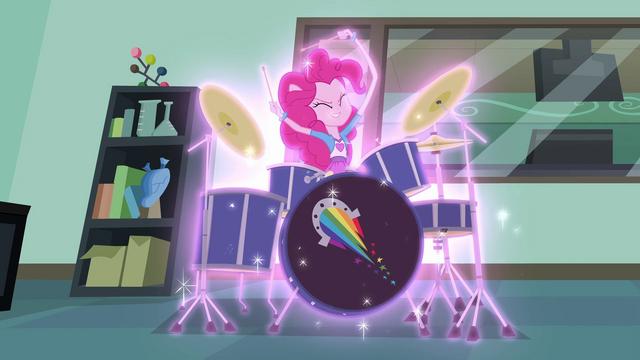 File:Pinkie Pie drumming furiously EG3.png