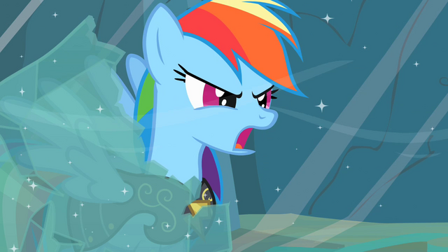 "File:Rainbow Dash ""Earth ponies are numbskulls!"" S2E11.png"