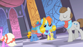 Rainbow Dash speeds through the Gala S01E26.png