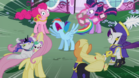 Rainbow has had enough S4E21