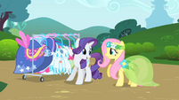 Rarity talks to Fluttershy S1E20