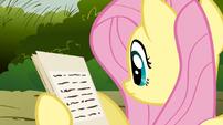 Fluttershy pamphlet S02E19