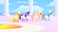 Ponies in Cloudsdale S1E16