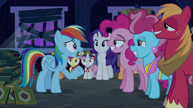 """File:Rainbow Dash """"what's happening?"""" S6E15.png"""