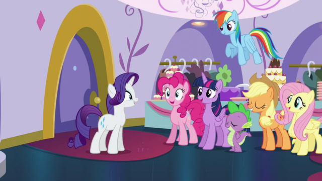 """File:Rarity """"Somepony pinch me!"""" S5E14.png"""