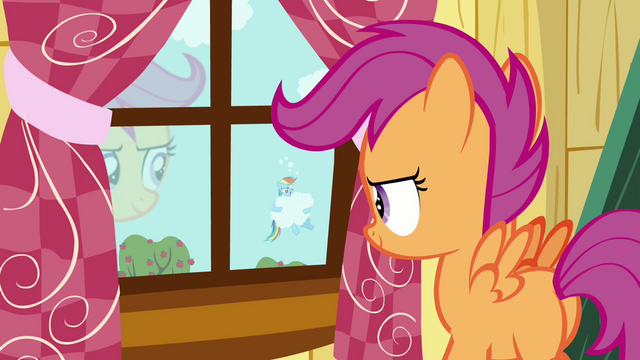 File:Scootaloo walking towards the window S3E06.png