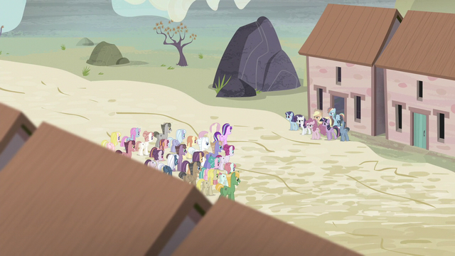 File:Twilight and friends are let out again S5E2.png