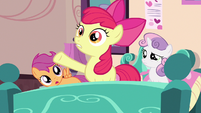 Apple Bloom by making her S3E4
