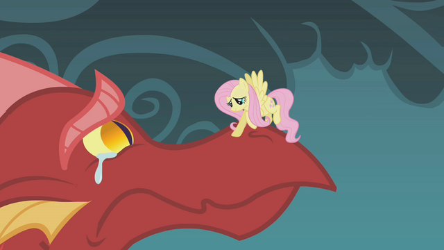 File:Fluttershy consoles the crying dragon S1E07.png