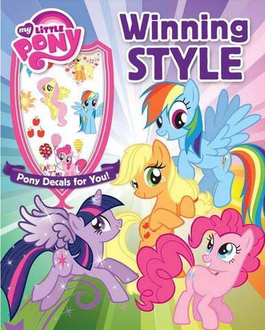 File:My Little Pony Winning Style bookcover.jpg