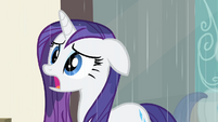 Rarity '...but a hard time' S4E08
