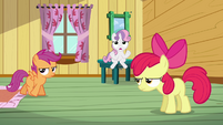 Sweetie Belle 'What are we gonna do' S3E04