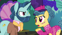 """Trapeze star """"something they've never seen before"""" S6E20"""