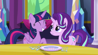 Twilight Sparkle pleased with herself S6E6