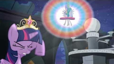 "MLP FiM - Princess Celestia Banishes Nightmare Moon ""Princess Twilight Sparkle"" HD"