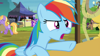 Rainbow complains to Daring Do collector S4E22