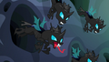 Changelings popping out of burrows S6E26.png