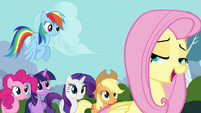 "Fluttershy ""you can do it, Breezies"" S4E16"