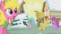 Ponies briefly stop arguing S1E11